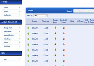 Data Center Customer Portal