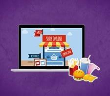 Online platform for Fast-food Industry