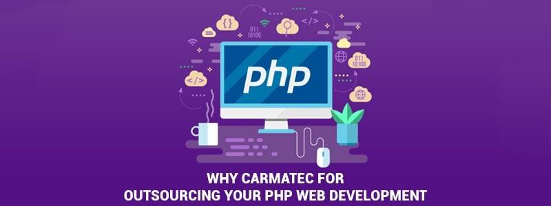 outsource php web development company
