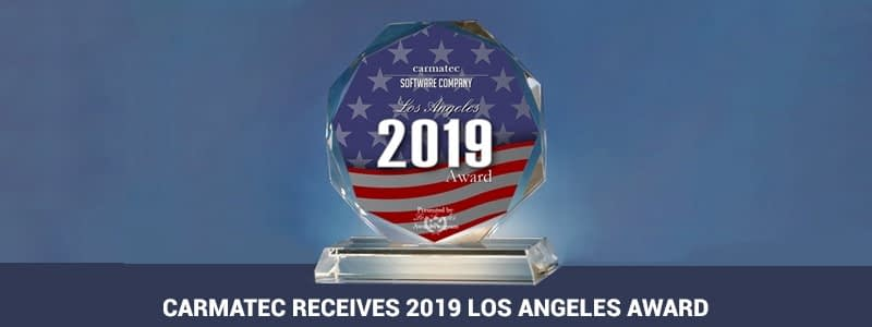 Carmatec Receives 2019 Los Angeles Award in the Software Company Category