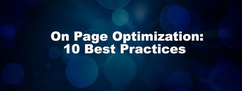 on page seo strategies