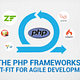 php frameworks best fit for agile development