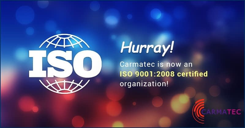 Carmatec ISO 9001:2008