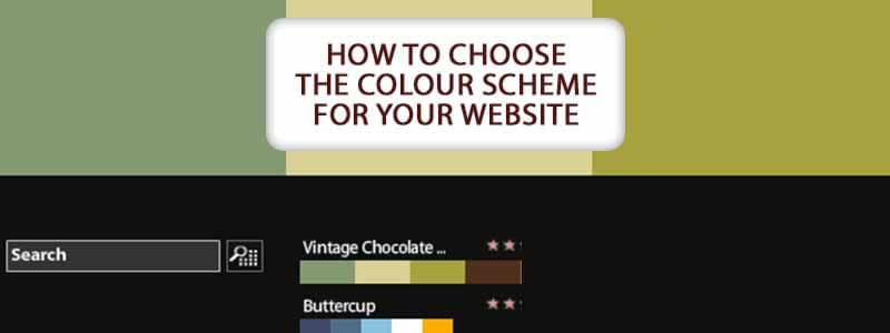 color scheme for your website