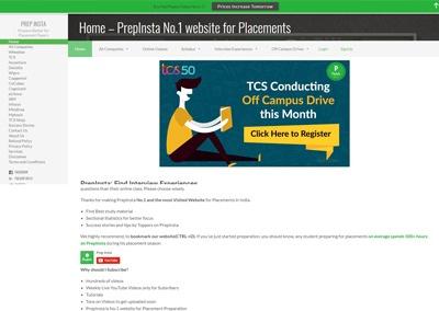 Interview Preparation Site